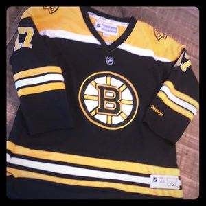 Youth Boston Bruins jersey, size L/XL. Lucic
